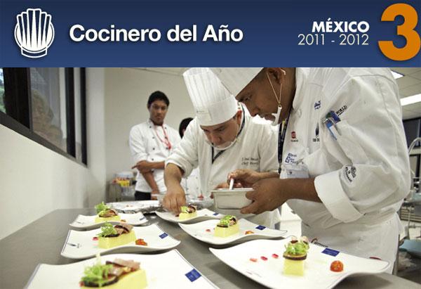 Concurso Cocinero del Año México 2011-2012
