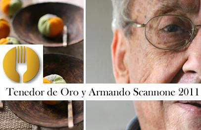 La Academia Venezolana de Gastronomía ha otorgado los Premios Tenedor de Oro y Armando Scannone 2011.