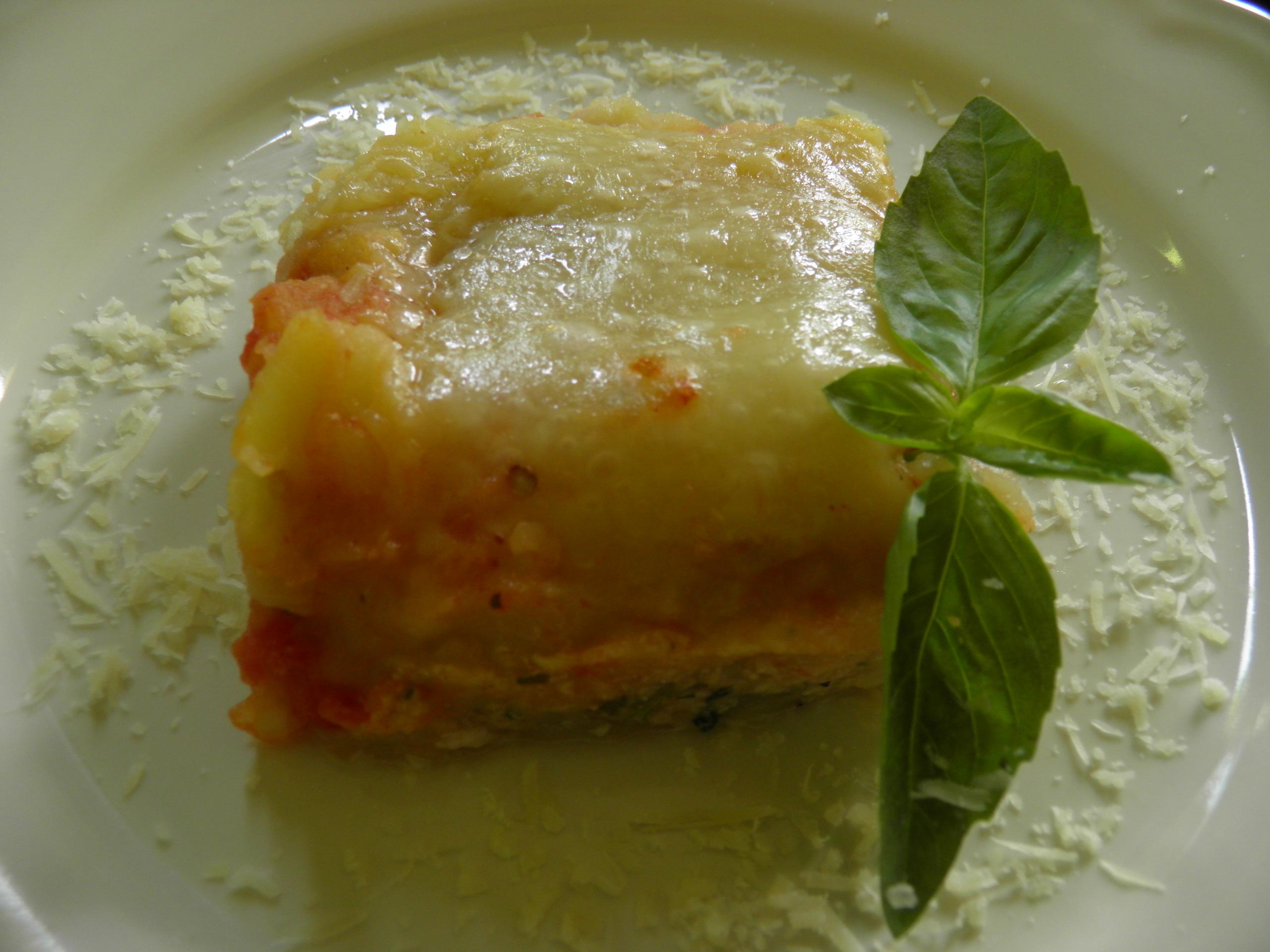 Pastelon De Tayotas Relleno De Pollococina Caribe Cocina Caribe