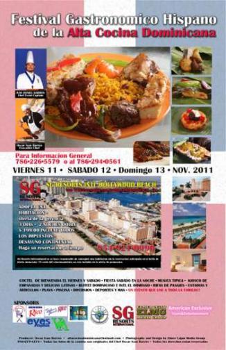 Celebrarán Festival de Gastronomía Típica Dominicana en Hollywood Florida