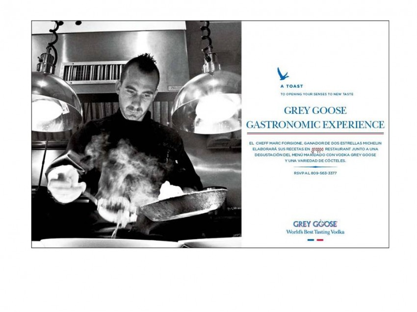 Grey Goose Gastronomic Experience