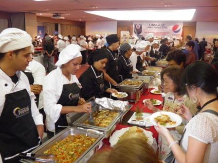 Sabores de Taiwán en XIII Festival Gastronómico Interuniversitario