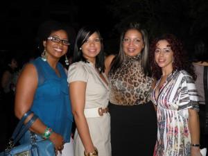 La Chefa, La Chef Tita, Angeli Paez y Elaine Hernández