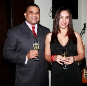 Delio Rivas y Melissa Rodriguez