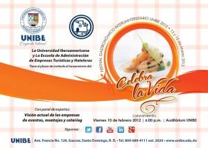 FESTIVAL GASTRONOMICO UNIBE 2012