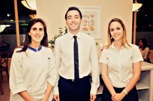 Principal. Natali Giha, Gianmarco Gamboa y Maria Isabel Suárez
