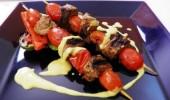 Cómo mejorar el sabor de las brochetas de carne?