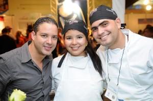 Lenin Martinez, Hilne Amonte y Roberto Rijo