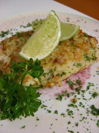 Vídeo receta pescado empanizado con papa y jengibre