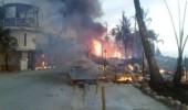 Incendio Las Terrenas deja perdidas al sector gastronómico