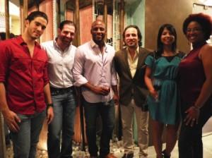 Lowensky Natera, Jose G. Martinez, Enrique Quailey, Guillermo Asencio, Chef Tita, La Chefa