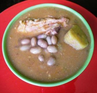 """Receta Sancocho de Habichuelas  """"Delicias del conuco"""""""