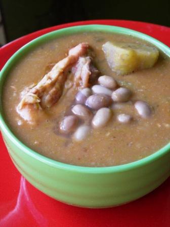"""Sancocho de habichuelas """"Delicias del conuco"""""""
