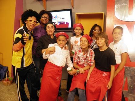 """Pequeños chefs en """"Parque intrépido"""""""