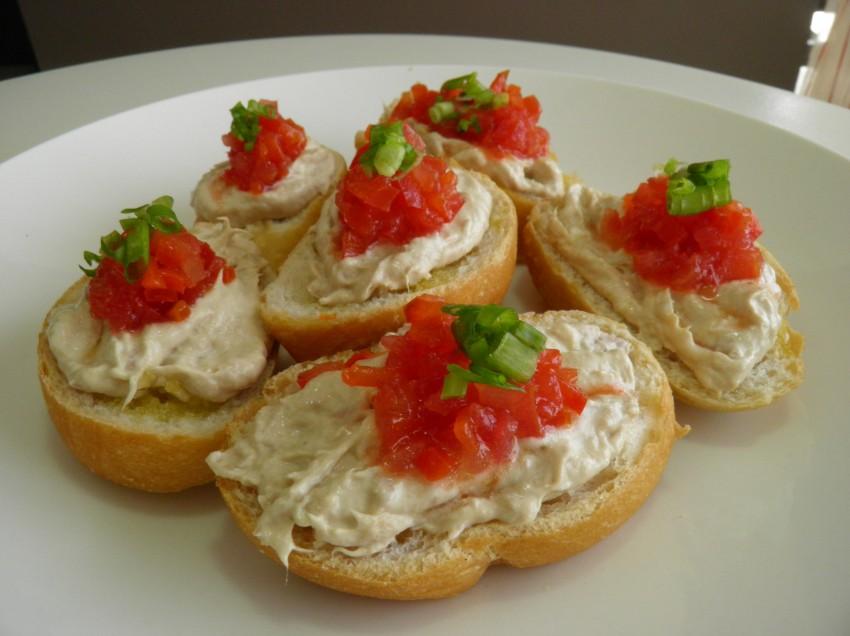 Taller de canap s y bocadillos con la chefacocina caribe for Entrantes tipicos franceses