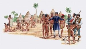 Indios y españoles