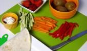 Meriendas deliciosas, nutritivas y saludables.