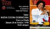 Taller Nueva Cocina Dominicana