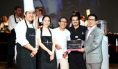 "Chef Romain Valicón en concurso ""So Amazing Chefs"""