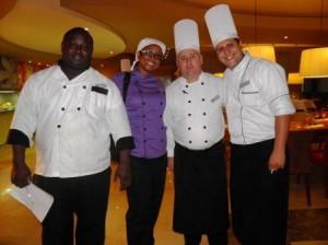 La Chefa con chefs NH