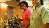 La Chefa y Chef T preparan taller para Cabo Haitiano