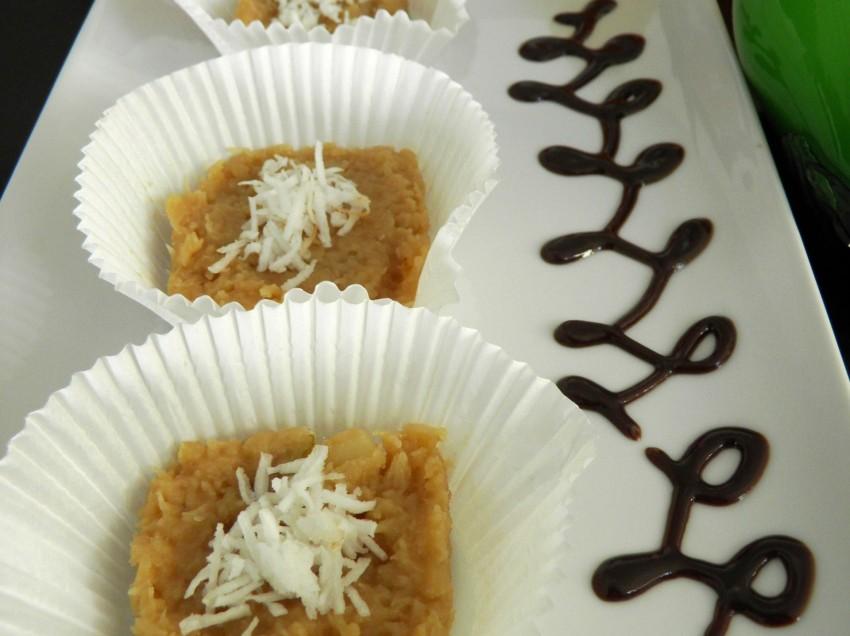 Dulce de coco tierno