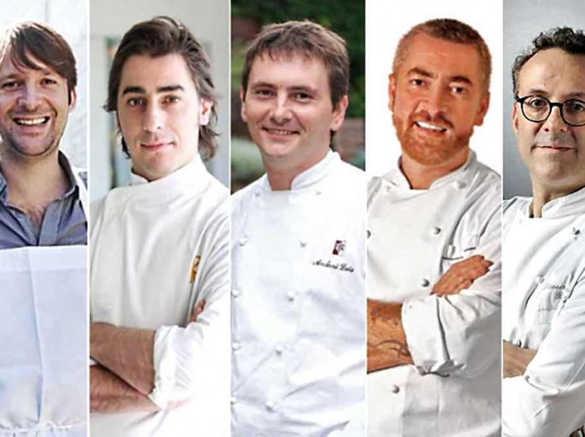 Cinco top chefs en MESAMÉRICA 2013