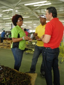 La Chefa con productores agrícolas
