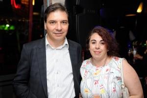 Ruben D´Angelo y Alejandra Brunet