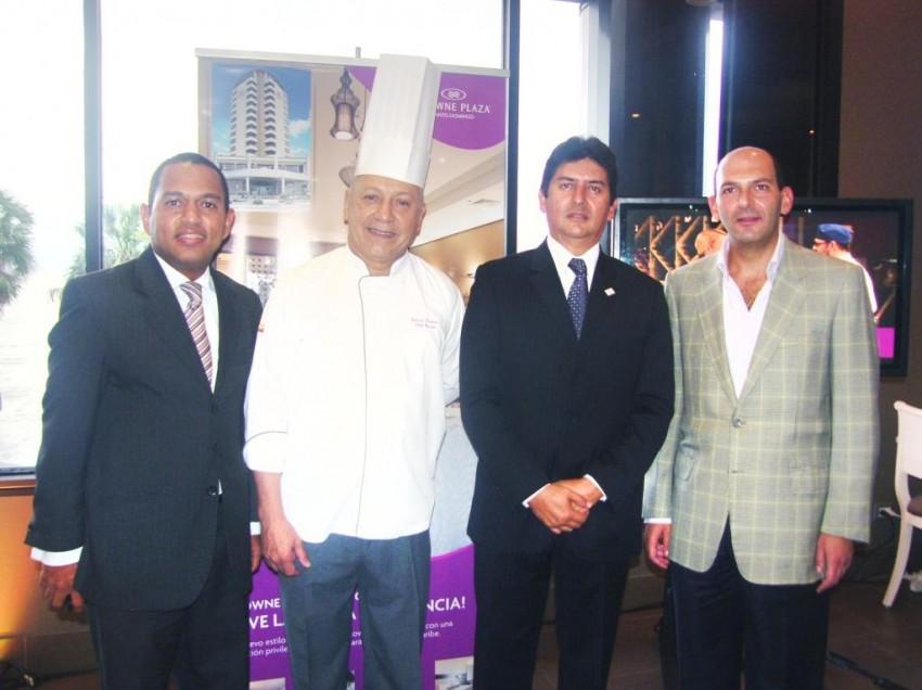 Crowne Plaza Santo Domingo presentó su restaurant Nabú