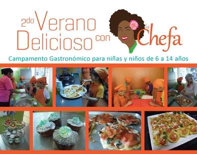 "La Chefa anuncia 2do campamento ""Verano delicioso"""