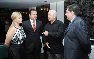 Catherine Lemoine Raymundo Morales, Luis Vivanco y Enrique Bonelli
