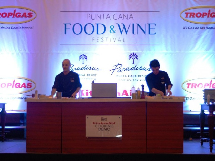 Los platos de Berasategui en Punta Cana Food & Wine Festival