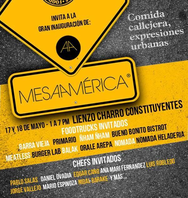 Anuncian Mesamérica 2014