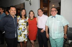 Foto 9- Raymundo Morales, Cristina Lockward, Tiffany Bienen,  José Gregorio Álvarez y Juancho Ortíz