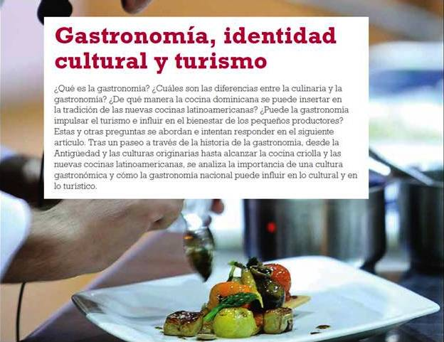 Convocan a Conversatorio Gastronomía, Identidad Cultural y Turismo