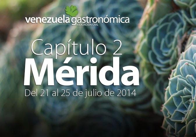 Venezuela gastronómica será en Mérida