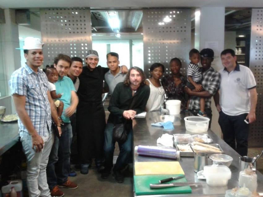 Reinserción social a través de la cocina