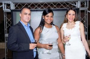 Jhonny Velazquez, Urnelia Javier, Francina Inoa