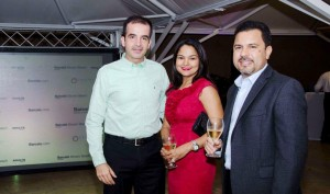 José María García, Cristina Lockward, Raymundo Morales