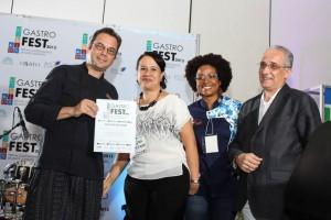 Pascal Messier, Lina Matos, Rosa Gómez y Denis Matas