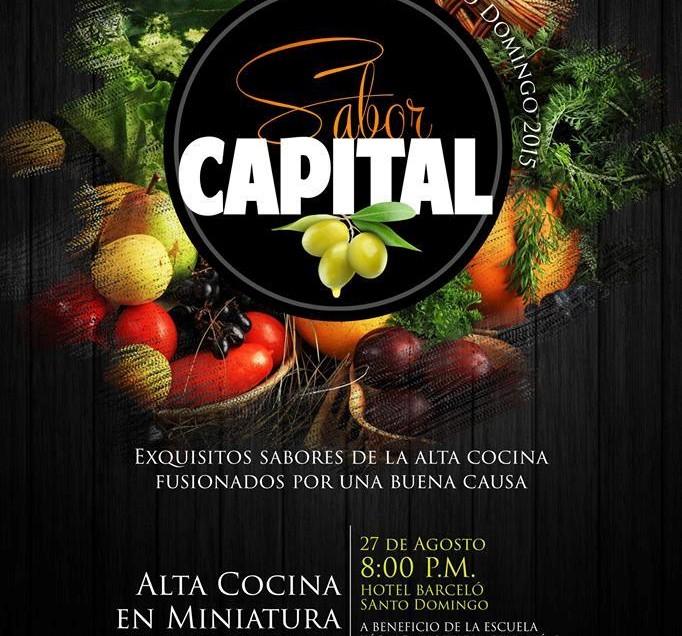 Alta Cocina en Miniatura en el  II Sabor Capital 2015