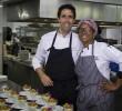 Fernando Pérez Arellano y La Chefa en Barceló Bávaro Culinary Week Dominican Flavors